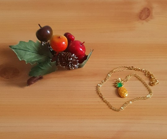 Collier ananas 2