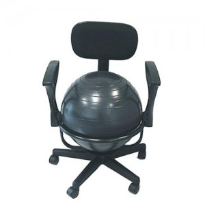 yoga ball chair reviews top rated gaming chairs best exercise modeets c 5 the cando adjustable with arm rests