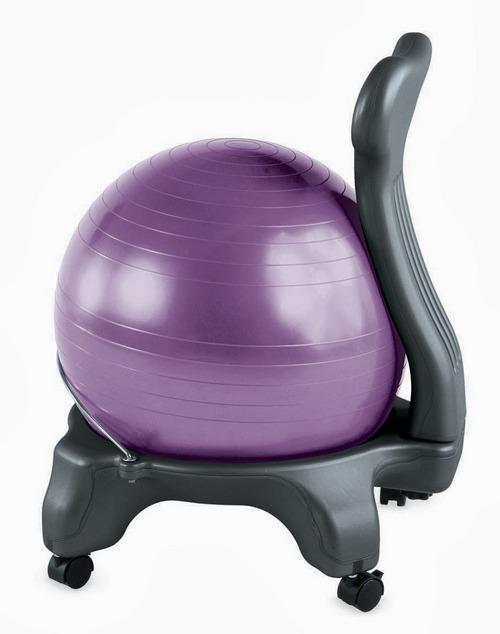 Review Gaiam Balance Ball Chair  Modeets