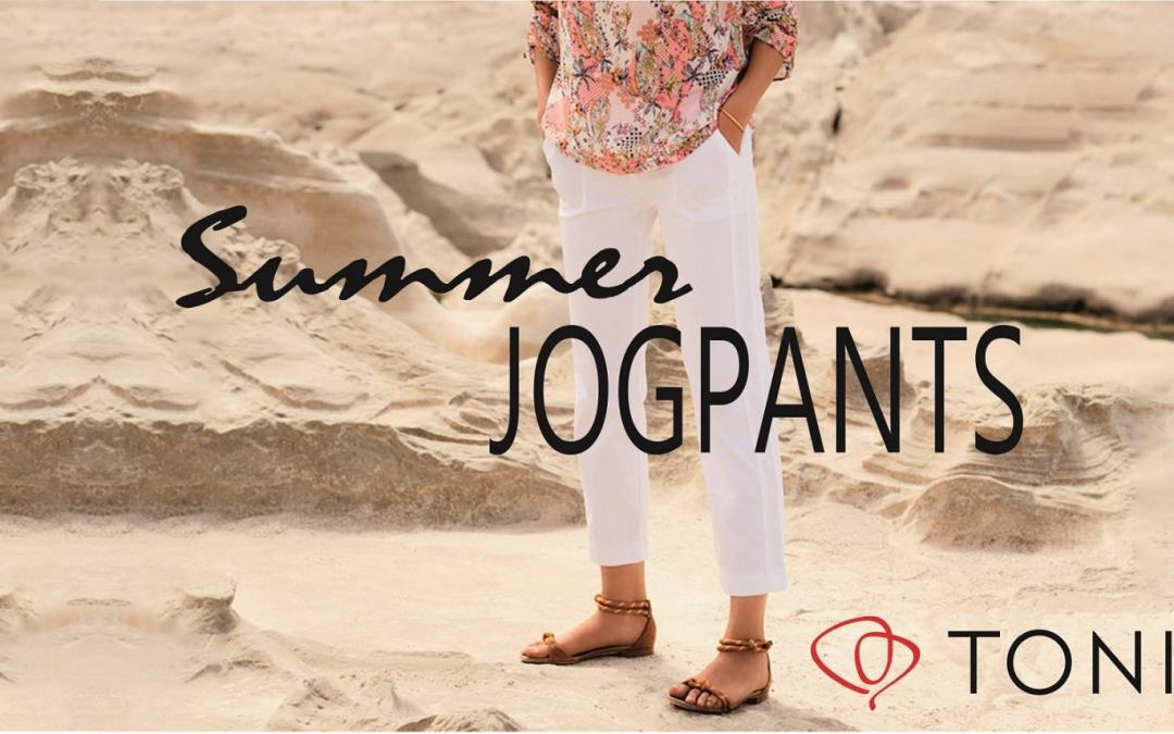 Ideal für warme Tage: Die TONI Summer Jogpants