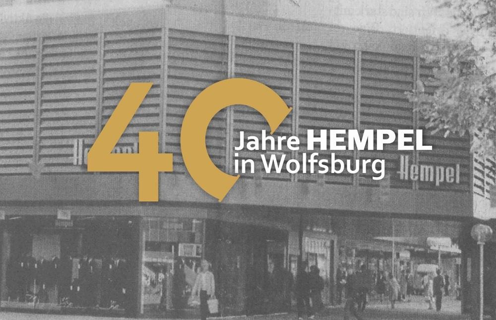 Jubiläumswoche: 40 Jahre Hempel in Wolfsburg