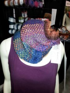 Plaid Cowl in ModeWerk Bulky-Caledonian Colors