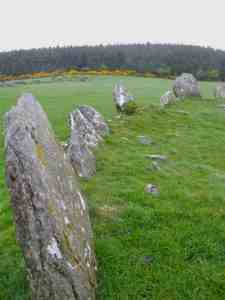 Stone Circle in Raphoe, Ireland