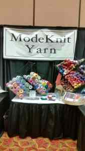Interweave Yarn fest Booth 2
