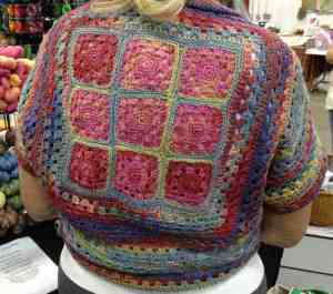Granny Square Shrug in ModeSock FLOW-Community Clinic