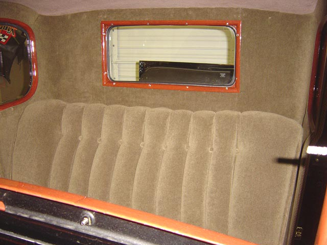 Another View Of The Mohair Upholstery Installed In House By Our Craftsmen