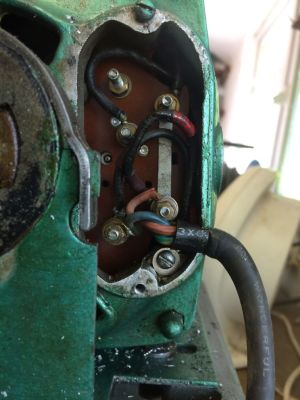 Wiring Newman motor on Myford ML7 | Model Engineer