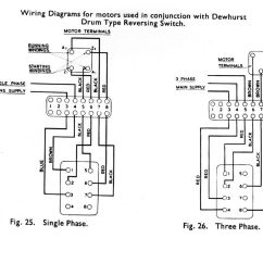Reversing Drum Switch Wiring Diagram Coil Tap Boxford Model Engineer