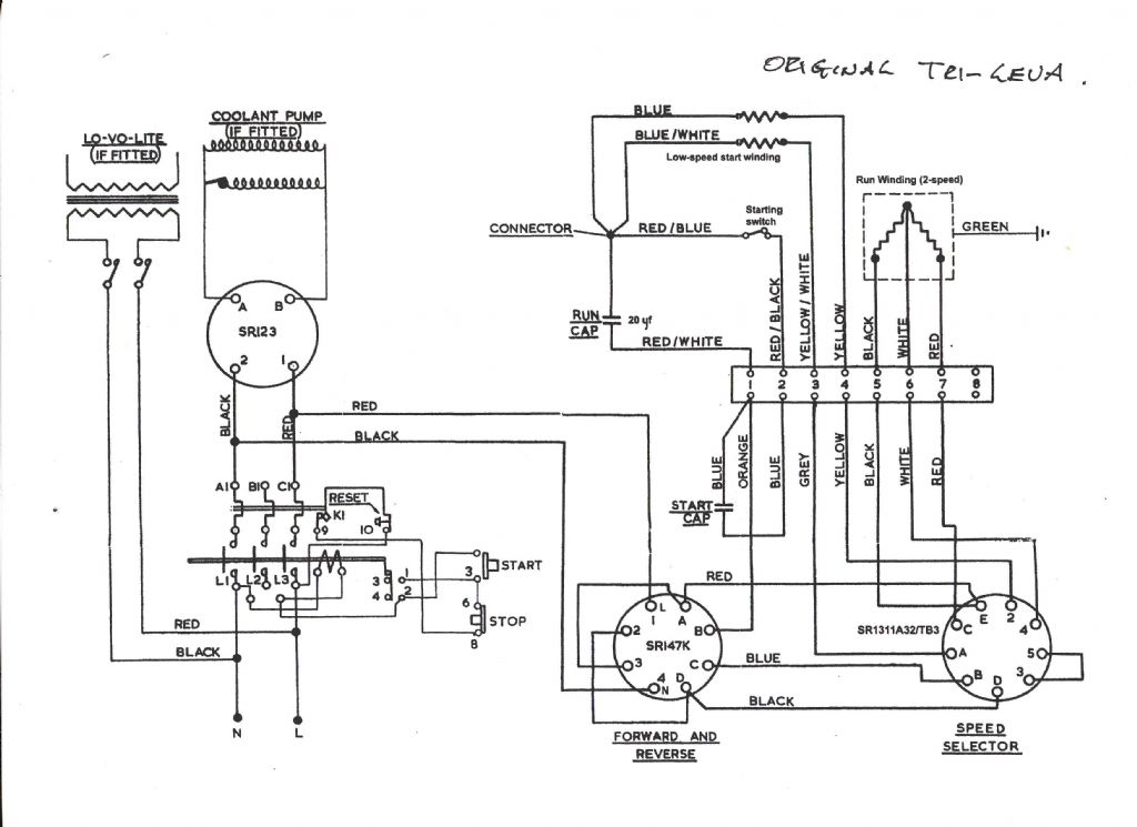 Wiring A Milling Machine ~ Wiring Diagram And Schematics