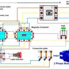 3 Phase Motor Wiring Diagram Uk Utility Trailer 4 X 8 Dol Starter Switch Model Engineer Forward Reverse Control Jpg
