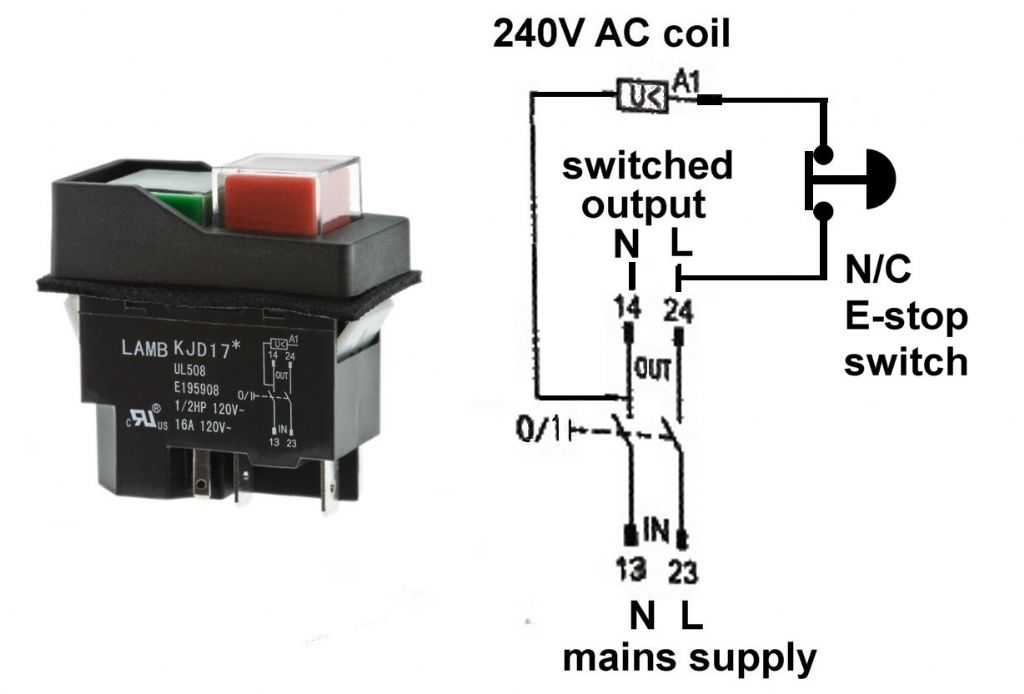 Wiring Diagram Emergency Stop Button