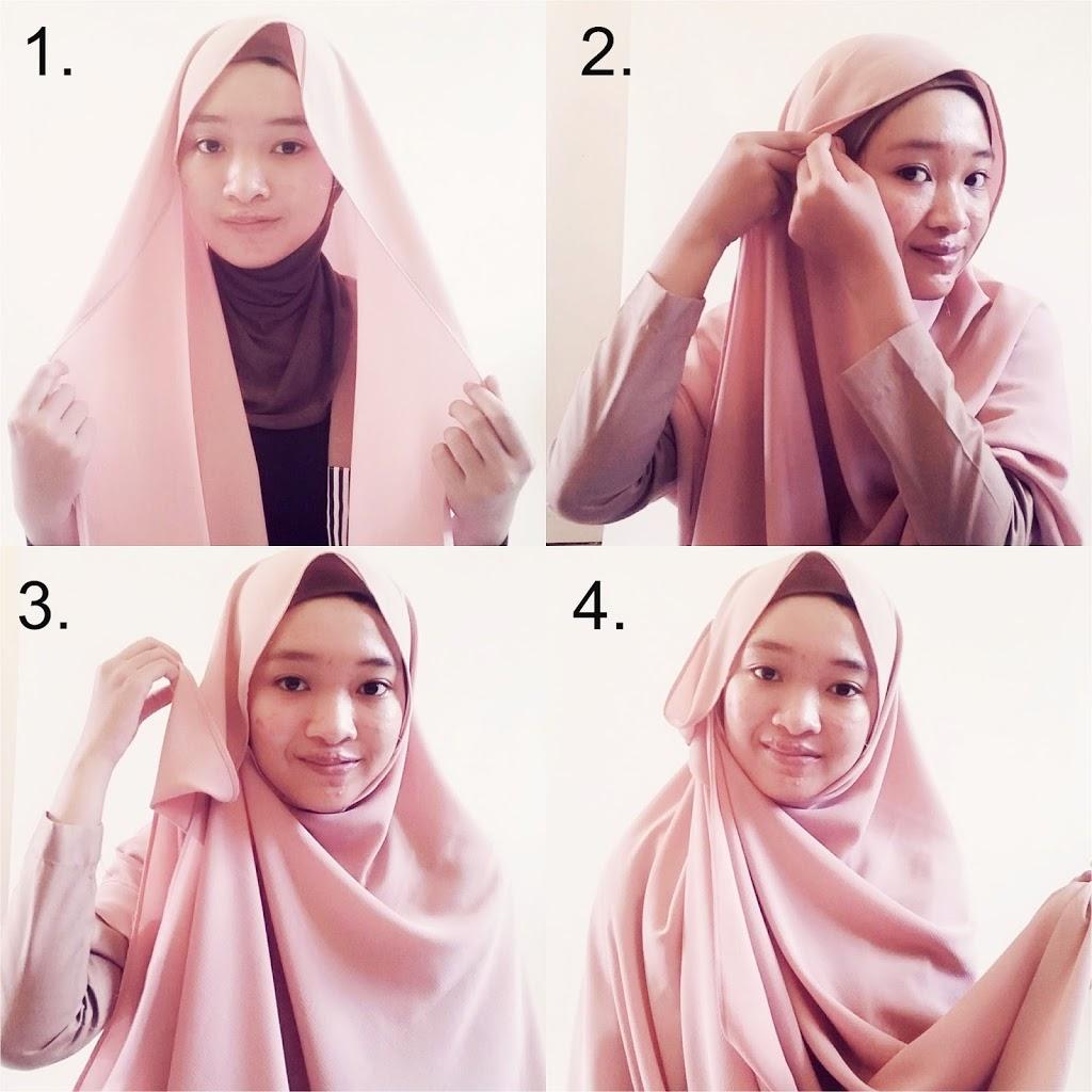 Tutorial Cara Memakai Hijab Simple yang Minimalis