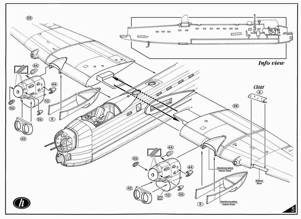 Avro Manchester Mk.Ia Planet Models 130