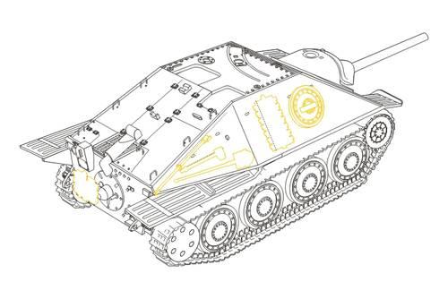 Hetzer G-13 (Swiss) conversion TAM CMK 8010