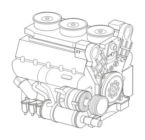 Maybach HL230 P45 CMK 8044
