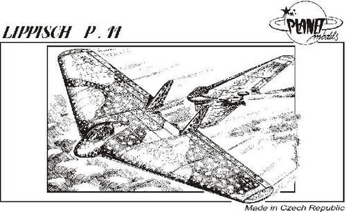 Lippisch P.11 Planet Models 067