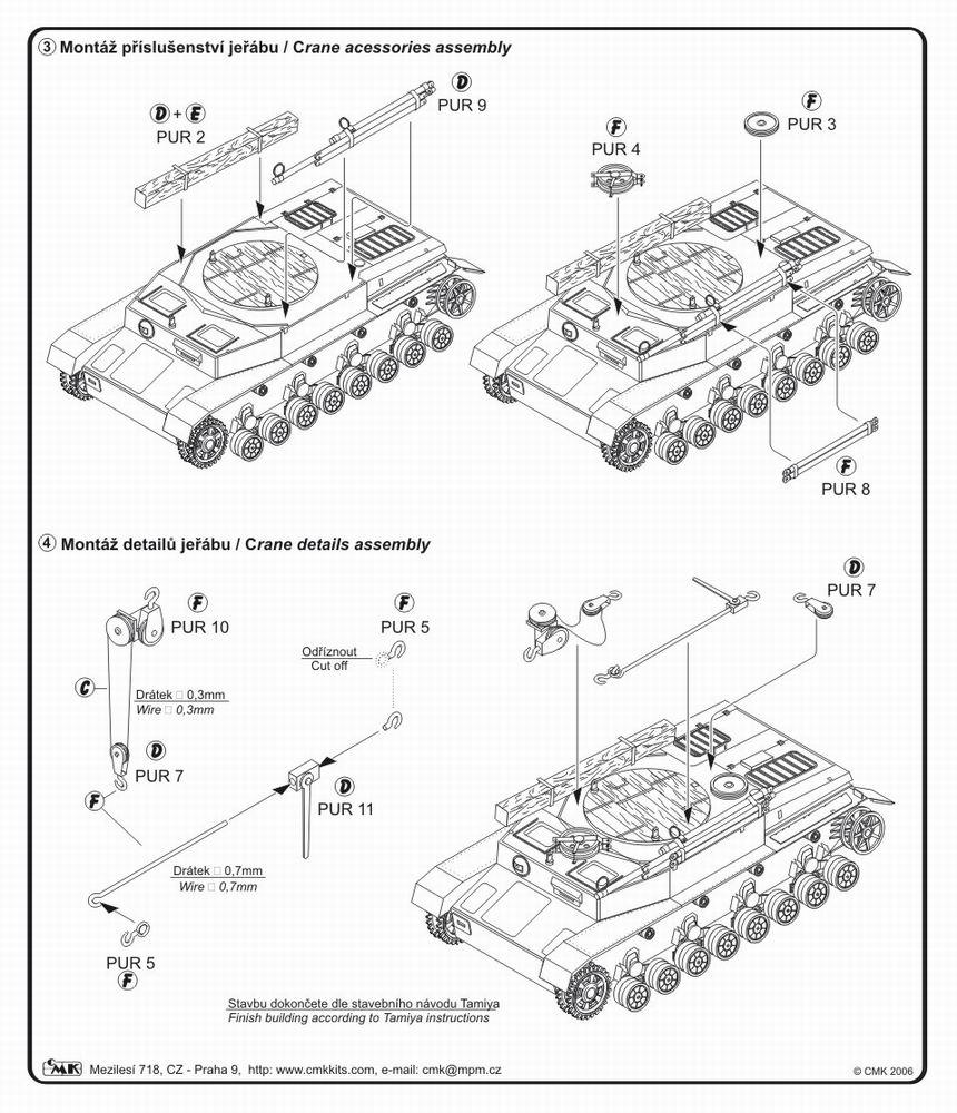 Pz. IV Bergepanzer TAM CMK 8009