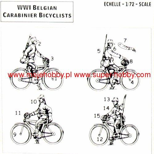 Belgian Carabinier Bicyclists (1914-1918) Hat 8275