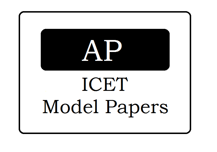 AP ICET Model Papers 2021 Download with Answers for MBA