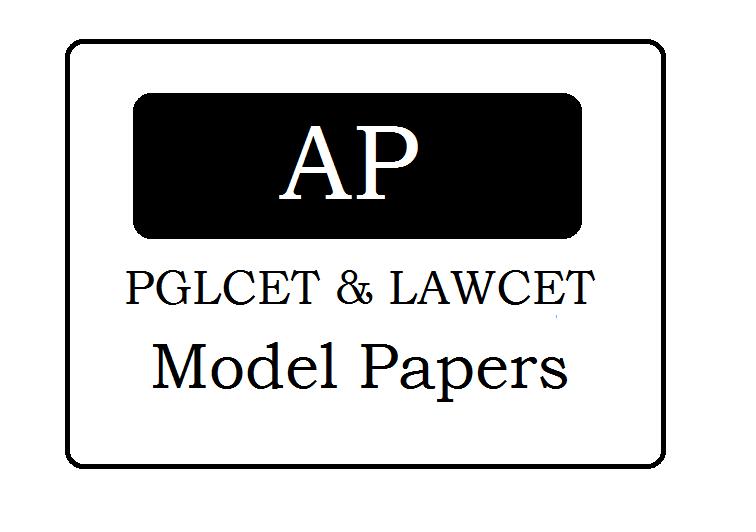 AP LAWCET & PGLCET Model Papers 2020 LAWCET Previous