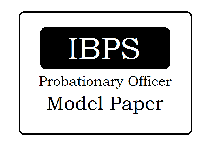 IBPS Model Papers 2020, IBPS Sample Papers 2020 Download