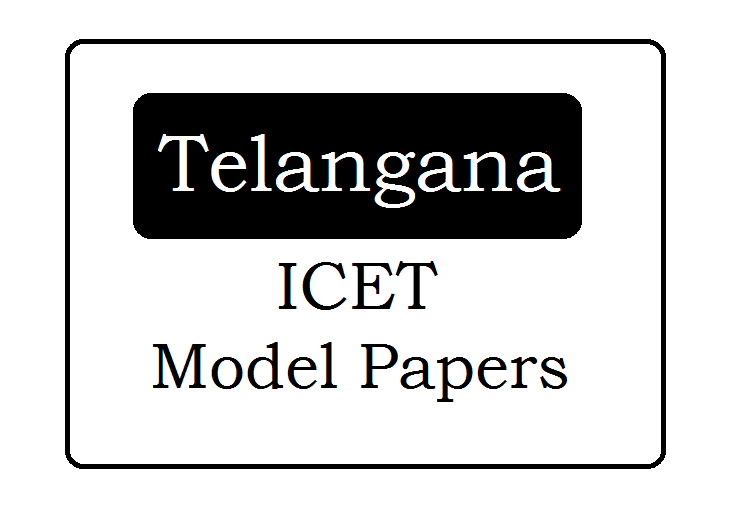 TS ICET Model Papers 2021 Download with Answers for MBA