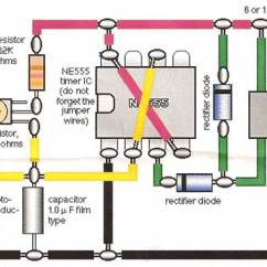 555 Timer Wiring Diagram 1999 Acura Cl Stereo Model Train Detector Circuit Using A Photocell