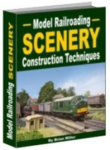 Model Railroading scenery construction techniques