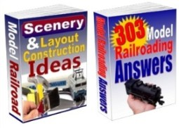 Scenery and Layout Construction Ideas ad 303 Model Railroading Answers