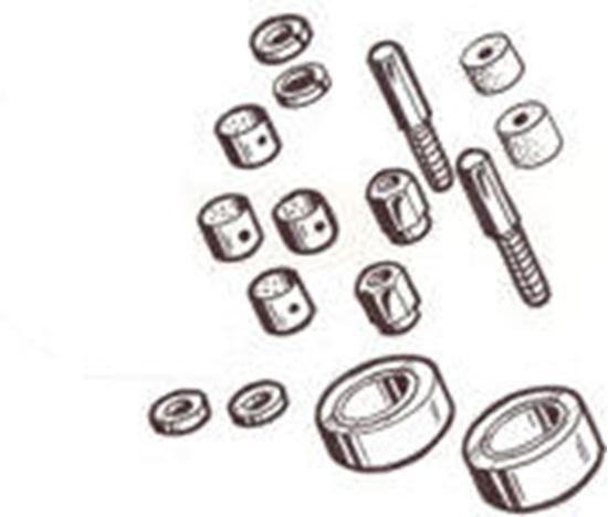 Tam's Model A Parts. Model A Spindle Bolt Repair Kit 1928