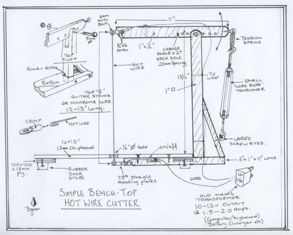 medium resolution of hot wire foam cutter wiring diagram