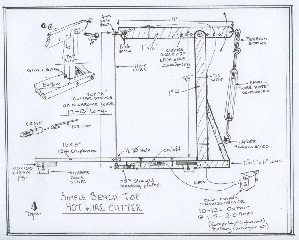 hight resolution of hot wire foam cutter wiring diagram