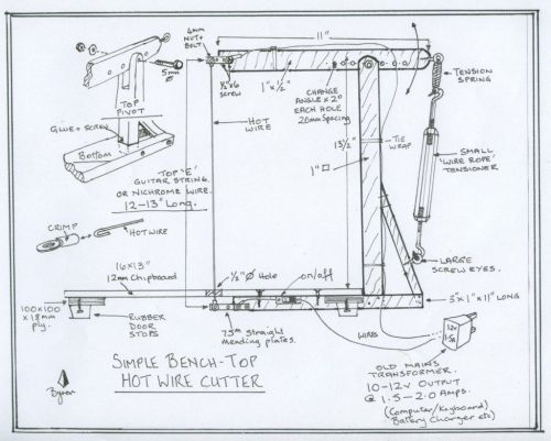 small resolution of hot wire foam cutter wiring diagram