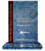 diecast hall of fame award