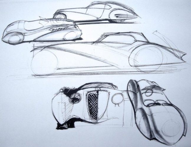 A sketch by Raffi