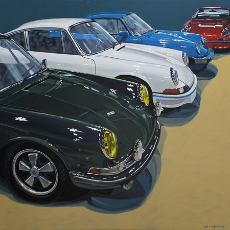 Automotive Art Porsche