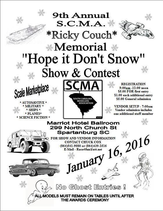 9th Annual Hope it Don't Snow Show and Contest Spartanburg