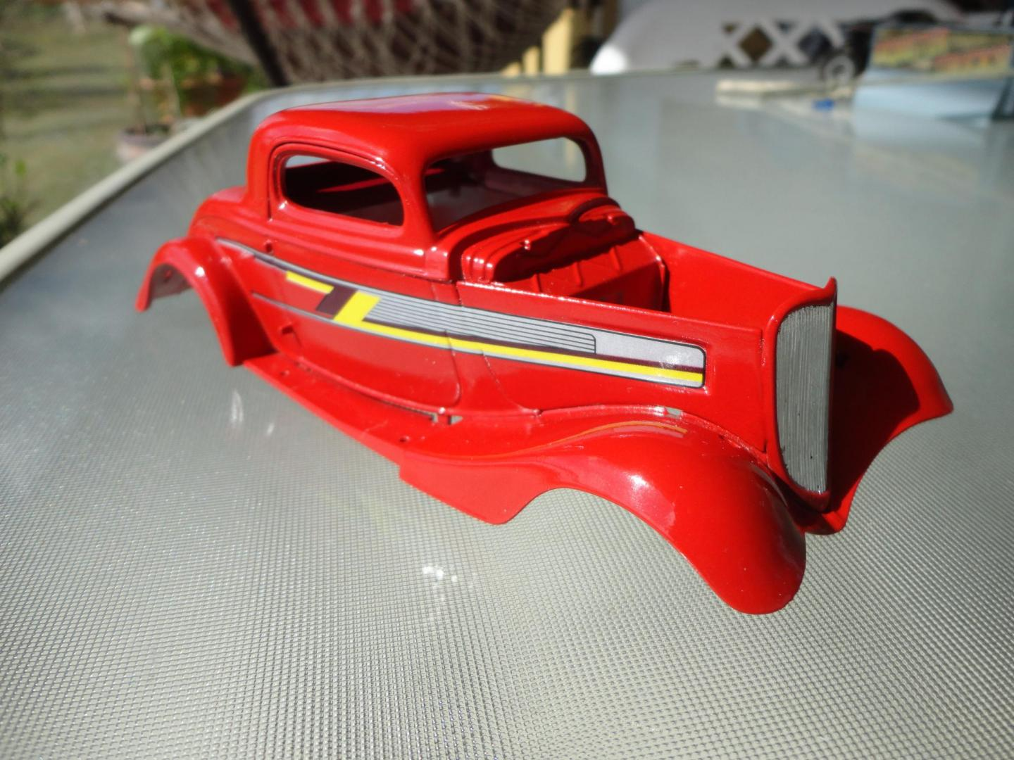 33 Ford Zz Top Eliminator On The Workbench Model Cars