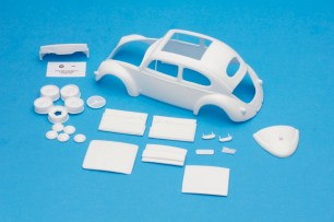 Best Model Car Parts VW Conversion Kits for the Tamiya 1966 Beetle Kit