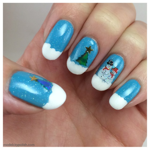 Winter Nails 4