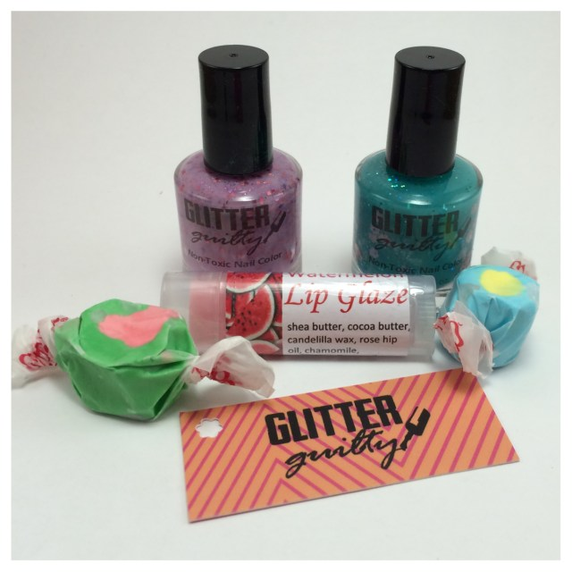 Glitter Guilty July 2014 Box Group