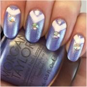 cinderella inspired nails