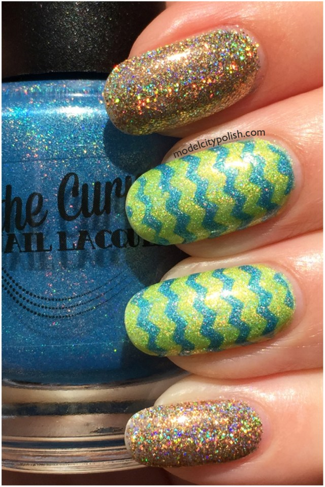 Chevron and Glitter 2