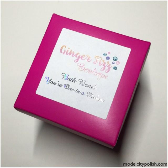 Ginger Fizz Bath Bomb 1
