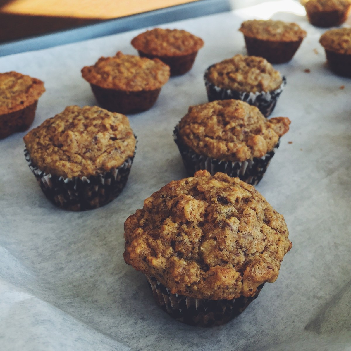 The Best Banana Muffins, GF & DF