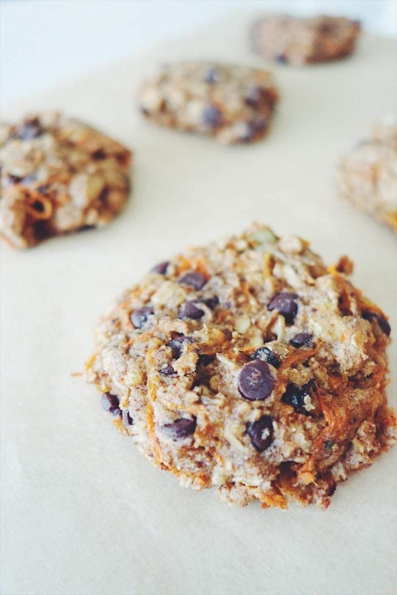 Carroty Breakfast Cookies