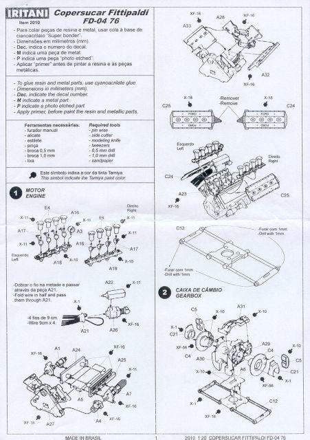 Copersucar FD-04 Espanol