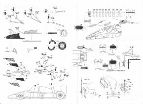 Building the Fujimi McLaren Honda MP4/6: step by step for