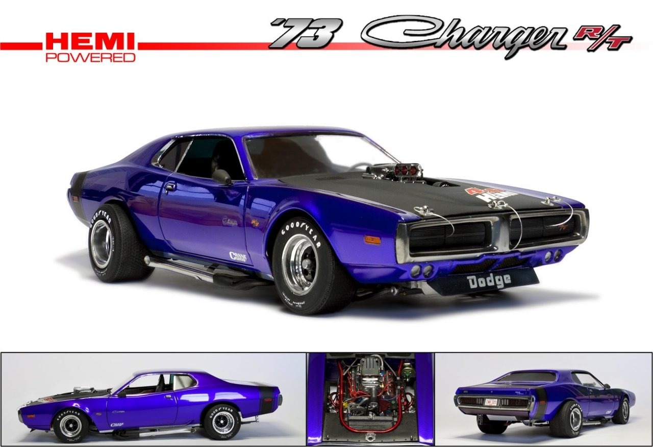 hight resolution of improving the mpc dodge charger 73 street machine 1 16 scale