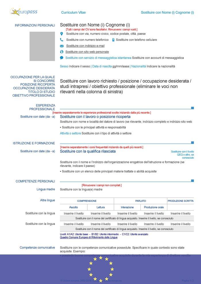 telecharger cv europass gratuit